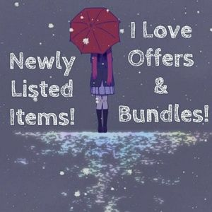 Newly Listed Items! Closet Re-Opened!